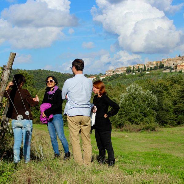 wine class tuscany