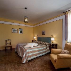 Fattoria del Colle - Agriturismo in Toscana - camera matrimoniale