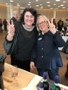 Monica-Larner-e-Donatella-CinelliColombini-degustazione-WineAdvocate-RobertParker-2019-a-Zurigo
