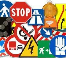 cartelli stradali- percorso di arrivo in cantina