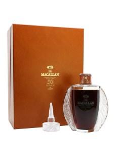 Distillati-più-cari-del-mondo-Macallan Lalique 50-Year-Old Single Malt .