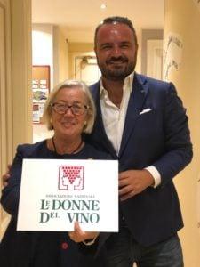 Matteo-Gordini-Milano-Wine-Week-e-Donatella-Cinelli-Colombini-Donne -del-Vino