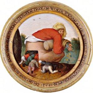 adulazione-Pieter-Brueghel 1592