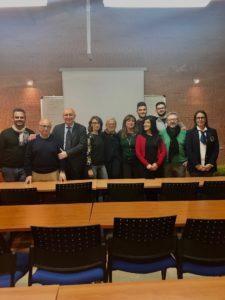 Corso-wine-business-Università-di-Salerno-Giuseppe-Festa-Donatella-Cinelli-Colombini e gli-studenti