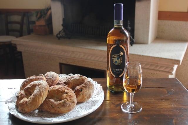 corollo ricetta di Quaresima di Montalcino
