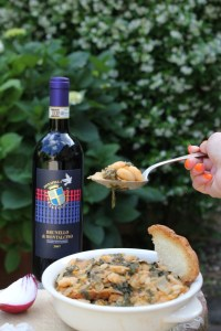 zuppa di pane di montalcino