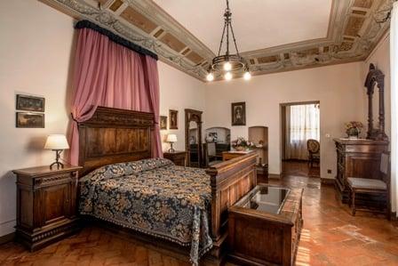 Toscana Fattoria del Colle camera del Granduca