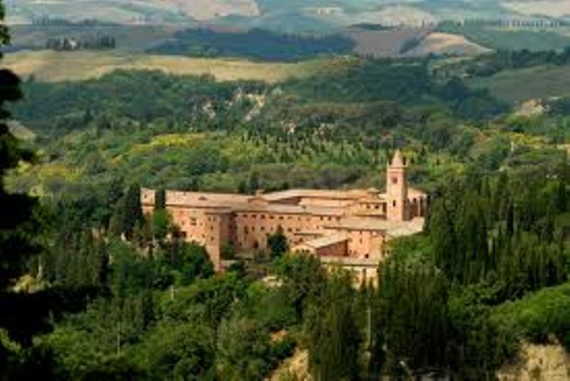 Toscana Abbazia di Monte Oliveto Maggiore