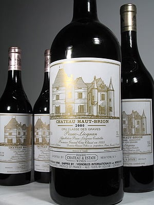 first growth Chateau Haut-Brion