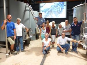 Montalcino: tinaia Brunello Casato Prime Donne