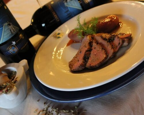 Fattoria-del-colle-roast-suckling-duck-breast-Cenerentola
