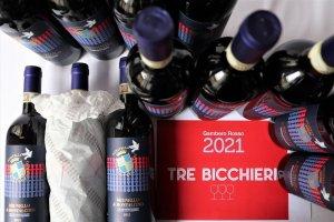 Tre bicchieri Offerta Brunello di Montalcino 2015