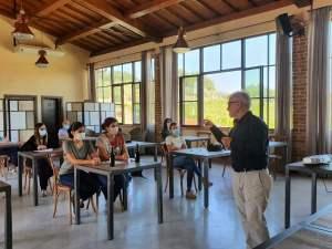 Leonardo-Romanelli-asterclass-su-Sangiovese-in-occasione-della-Vendemmia-experience-2020