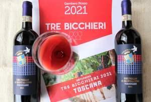 Gambero Rosso Tre Bicchieri Brunello 2015