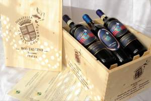 Brunello Riserva 2012 and 2013 with Vin Santo del Chianti 2008 - Donatella Cinelli Colombini