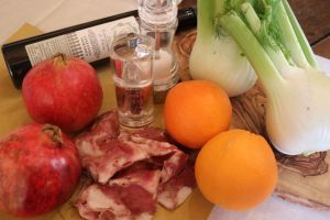 Sopressata salad: ingredients