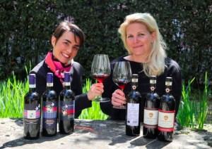Violante Cinelli Colombini e Sofia Ruhne dell'Az. Terreno - Tuscan Wines offer