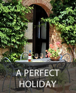 perfect holiday in Tuscany