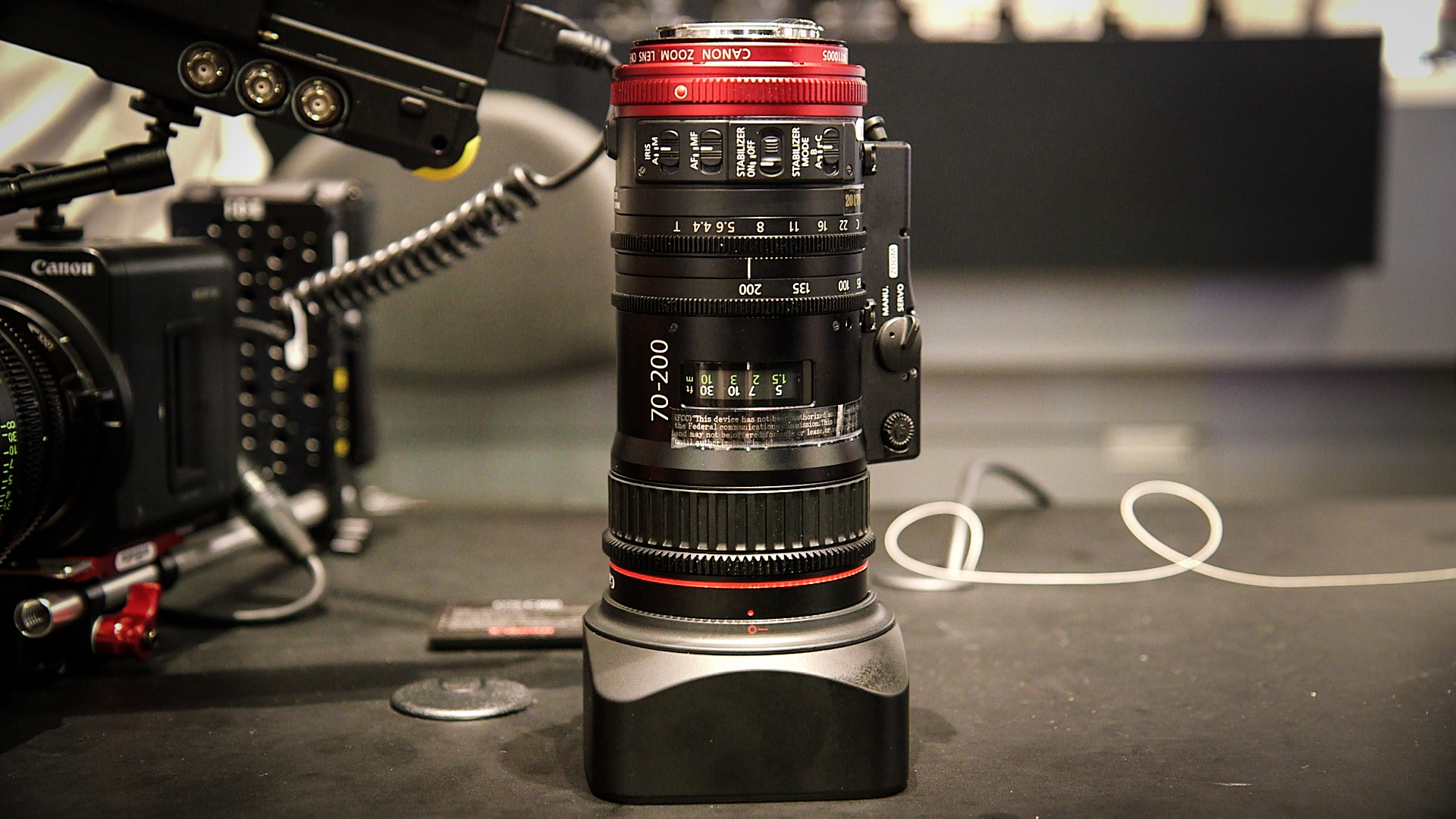 Hands on with the Canon Compact Cine Servo 70-200 T4 4 | Shot With a