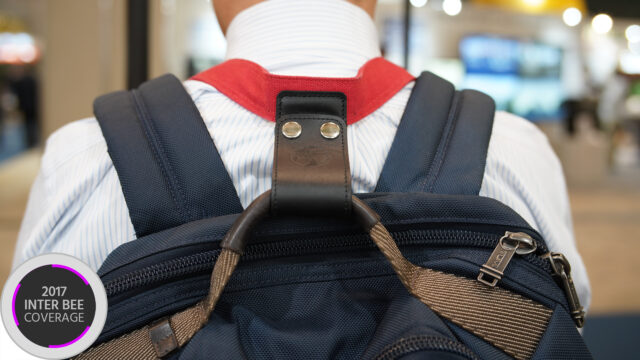 camera neck strap with backpack grip
