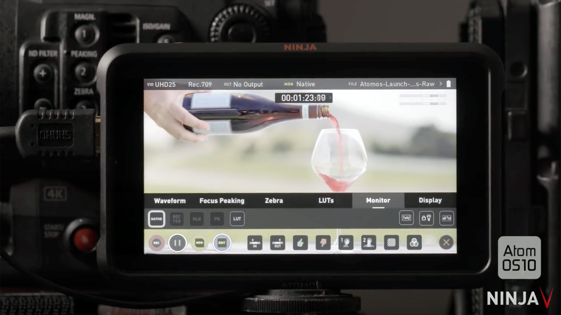 AtomOS 10 Supercharges Your Ninja V Monitor/Recorder | Shot