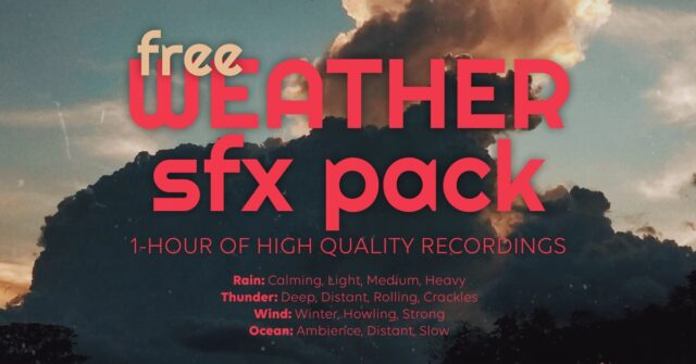 Accusonus free weather six pack