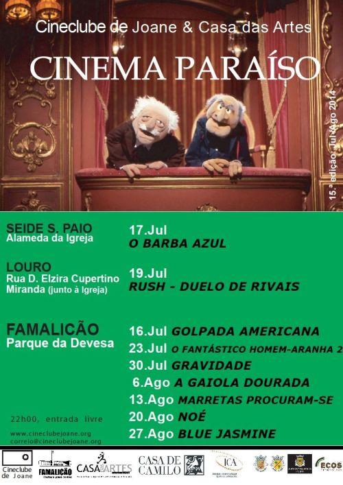 Cineclube de Joane: Cinema Paraíso 2014 _2
