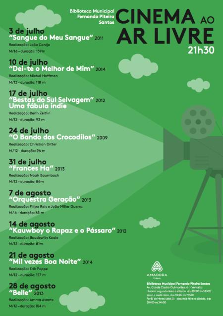 cinema ao ar livre amadora 2015