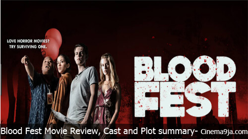 Blood Fest (2018) Movie Reviews, cast and plot Summary