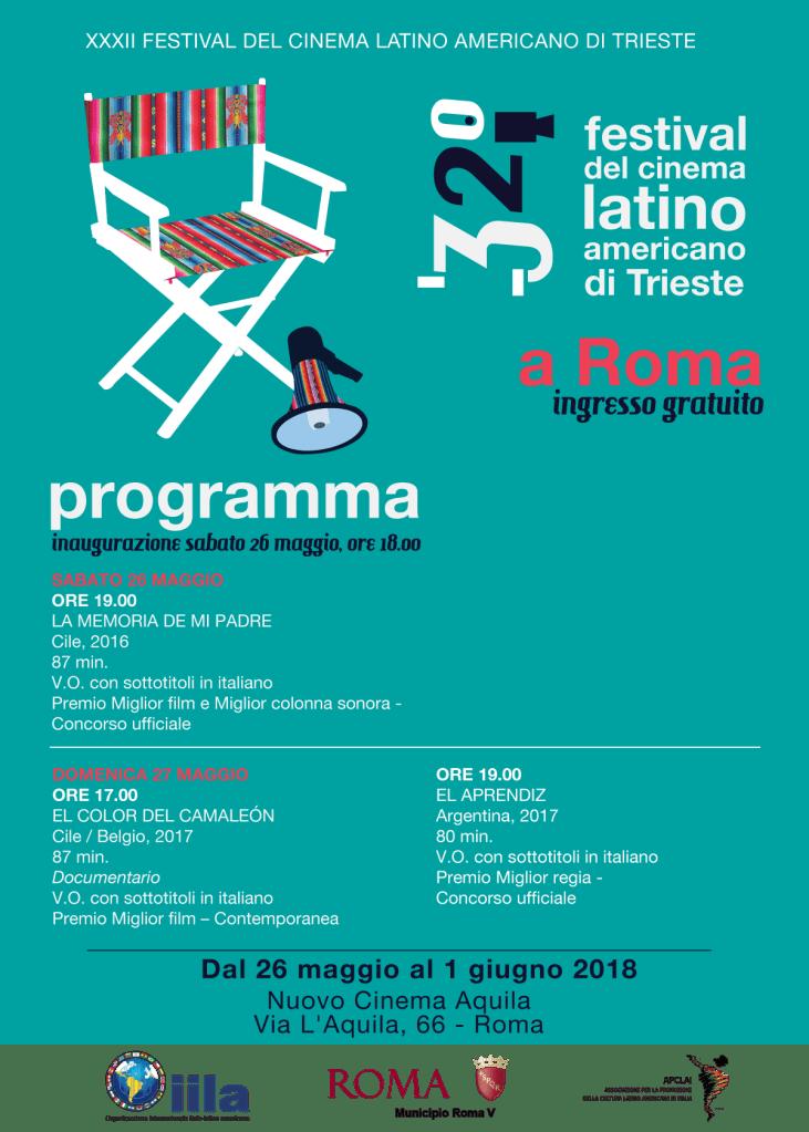 Festival del Cinema Latinoamericano di Trieste a Roma