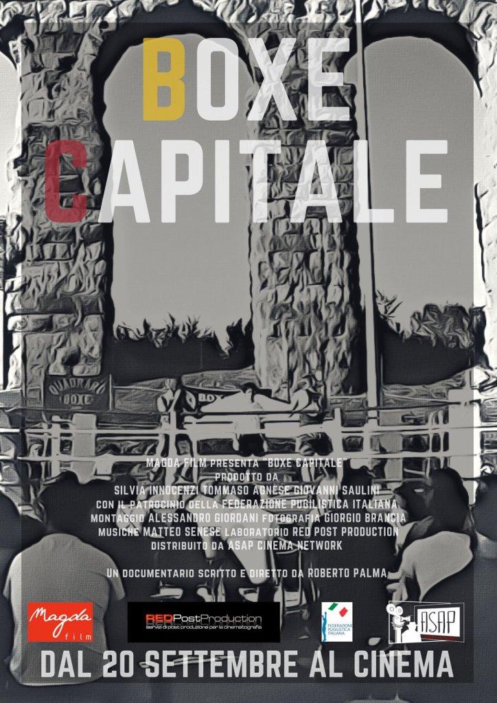 """Corriere della Sera ROMA – 24/9/2018 – """"Boxe Capitale"""", pugni, cuore e duelli di borgata"""