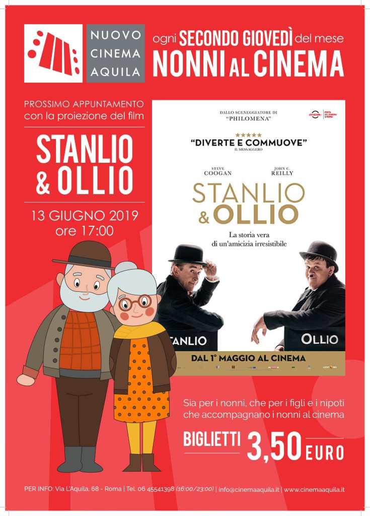 NONNI AL CINEMA: STANLIO & OLLIO