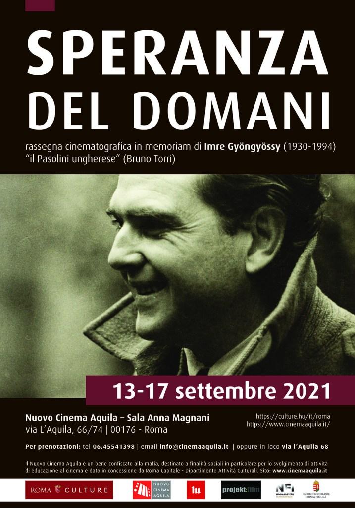 SPERANZA DEL DOMANI – Retrospettiva dedicata a Imre Gyöngyössy