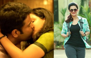 Honey Rose Liplock Scene