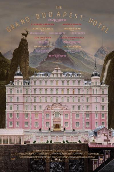 13 - Grand Budapest Hotel