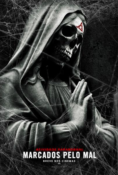 poster atividade paranormal marcados pelo mal