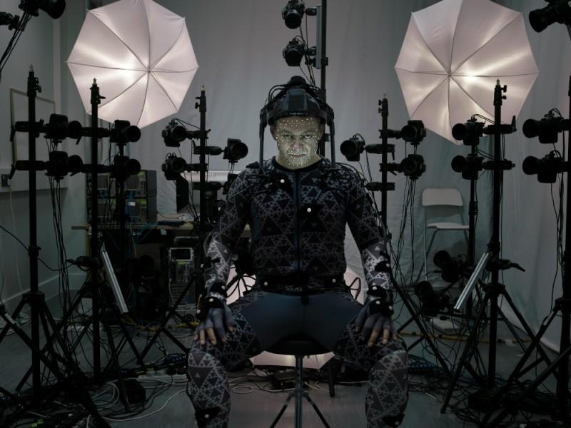 Andy-Serkis-capturando-movimento-Star-Wars-800x600 Resumo de notícias - 25 de maio a 6 de junho