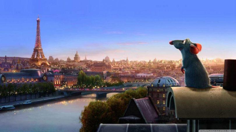 Ratatouille - Remi em Paris