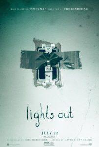 poster quando as luzes se apagam