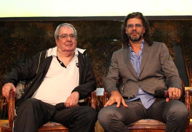 O-autor-Benedito-Ruy-Barbosa-e-o-diretor-Luiz-Fernando. Os diretores de TV: Parte 1