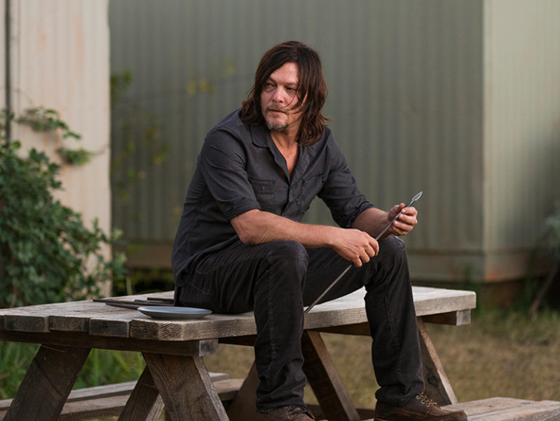 review the walking dead s07e14 - the other side