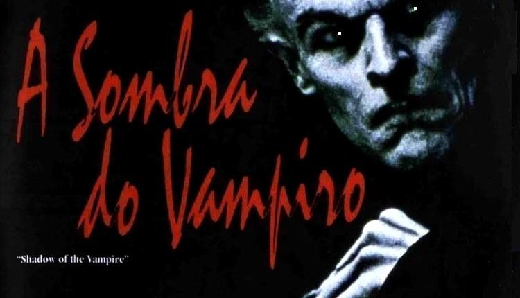 a sombra do vampiro poster