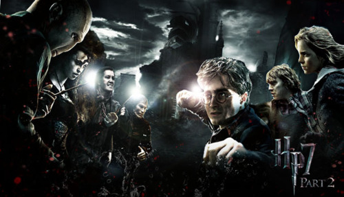 harry-potter-and-the-deathly-hallows-part-2-poster-harry-potter-2 Harry Potter e as Adaptações Cinematográficas