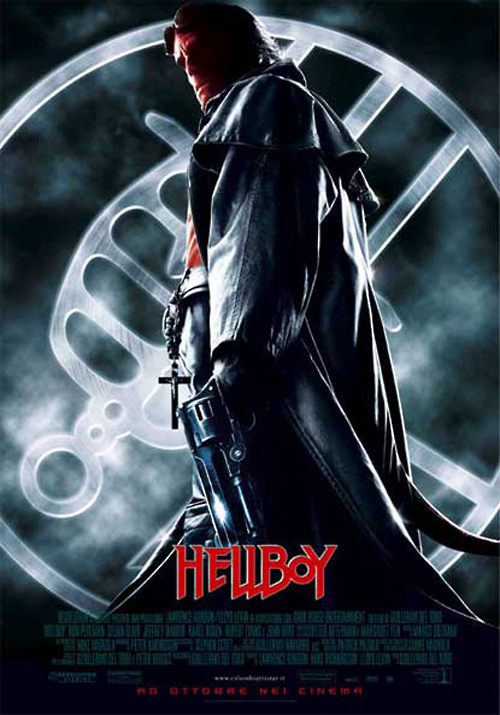 Risultati immagini per HELLBOY ( 2004 ) POSTER