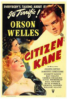 Citizen Kane (quarto potere) locandina