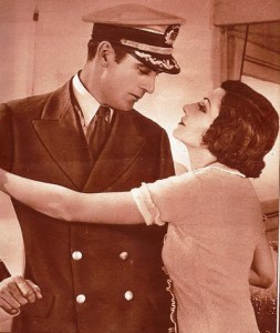 Claudette Colbert con Gary Cooper