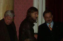 Chigrinskyi asistió al acto en solidaridad con su país.