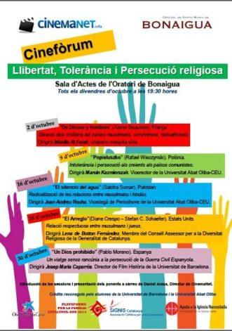 cinemanet   llibertat, tolerancia i persecució religiosa