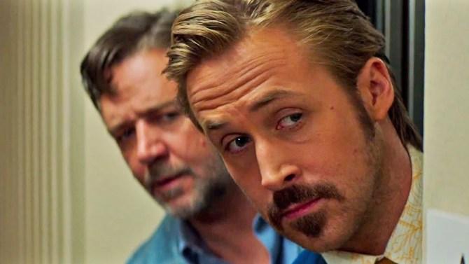 CinemaNet Dos buenos tipos Shane Black Russell Crowe Ryan Gosling