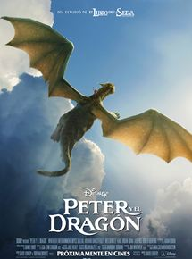 CinemaNet Peter y el dragón Disney